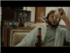 Man drinking in the movie The Bigfoot Election