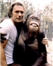Actor Clint Eastwood and Clyde