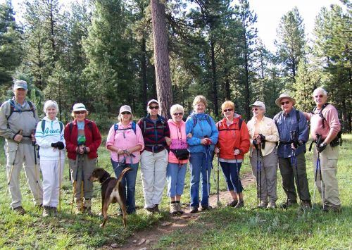 Moreno Valley Trekkers Group Photo
