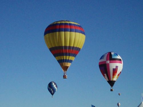 Lighter than Air Faire at the ABQ Balloon Fiesta 2009
