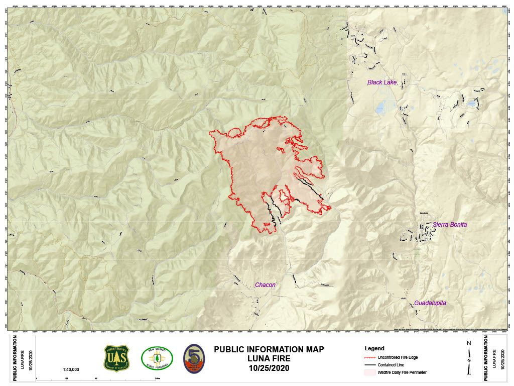 Luna Fire PIO Map Oct 25.2020